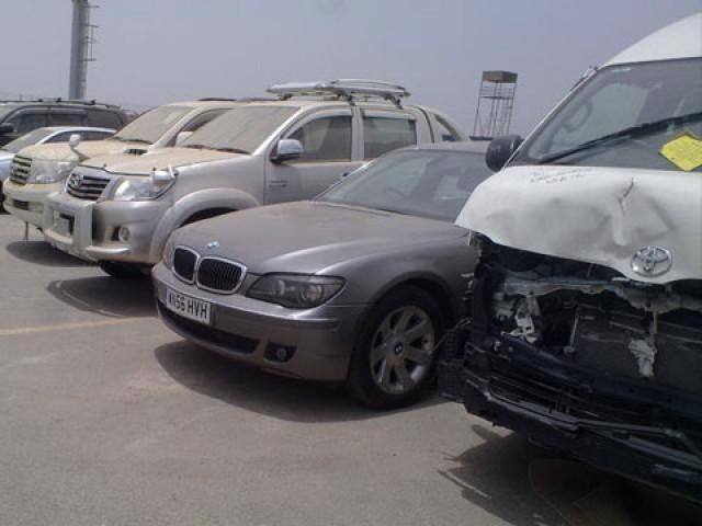 وزیراعظم نے گاڑیوں کو فوری نیلام کرکے90 روز میں کارروائی مکمل کرکے رپورٹ پیش کرنے کی ہدایت کر دی۔ فوٹو: فائل