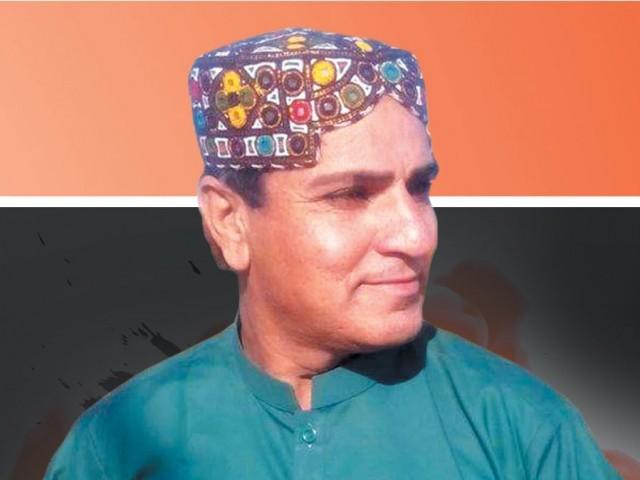 غلام محمد عرف تبسم کو ان کے اپنے گھر کے مہمان خانے میں قتل کیا گیا۔ فوٹو: فائل