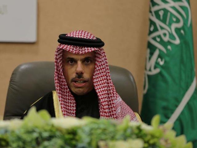 مسئلہ فلسطین کے حل تک اسرائیل سے متعلق پالیسی تبدیل نہیں ہوسکتی، ( سعودی وزیر خارجہ) فوٹو : فائل