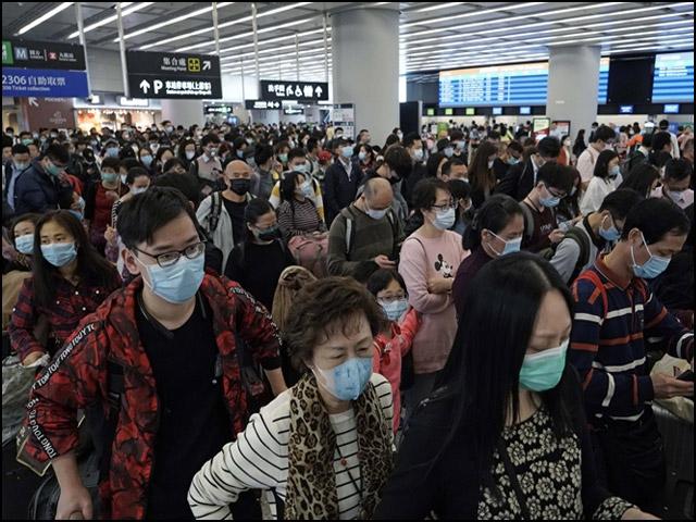 کورونا وائرس کے خلاف چینی عوام انفرادی سطح پر تمام حفاظتی اقدامات پر عمل پیرا ہیں۔ (فوٹو: انٹرنیٹ)