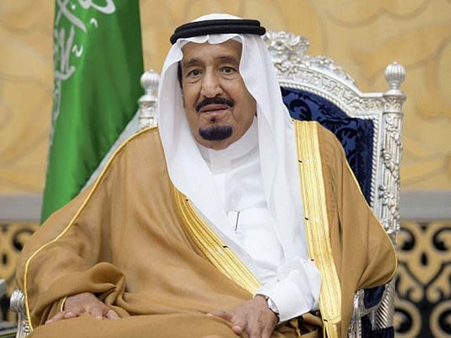 شاہ سلمان نے فلسطین اور اسرائیل کے براہ راست مذاکرات کو حوصلہ افزا قرار دیا، فوٹو : فائل