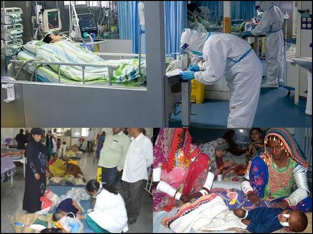 چین عوام کو بہترین طبی سہولیات فراہم کر رہا ہے اور ہمارے ملک میں مریض اسپتال کے فرش پر دم توڑ رہے ہیں۔ (فوٹو: فائل)