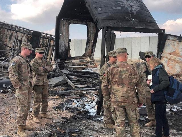 کرکوک کے فوجی اڈے پر دسمبر میں بھی حملہ کیا گیا تھا، فوٹو : فائل