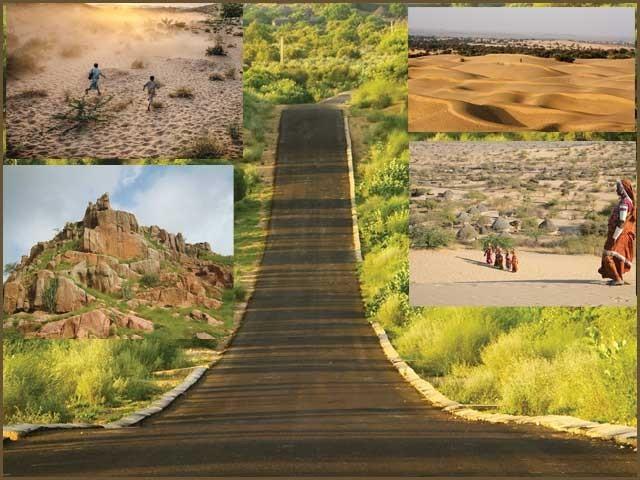 دنیا کے نویں بڑے صحرا کے سفر کا قصہ۔ فوٹو: فائل