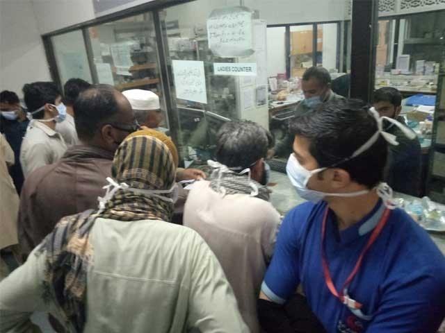 پاک بحریہ نے واقعے کی تحقیقات شروع کردیں،  متاثرہ افراد کے خون کے نمونے لے لئے