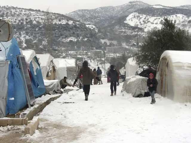 سخت سردی اور جنگ کے باعث شام کی صورتحال خوفناک ہوچکی، اقوام متحدہ فوٹو:انٹرنیٹ