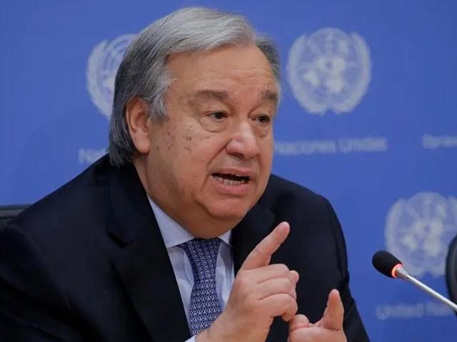 صرف 5 ممالک کے پاس ویٹو پاور ہونا عدم مساوات کی مثال ہے، سیکرٹری جنرل اقوام متحدہ فوٹو : فائل
