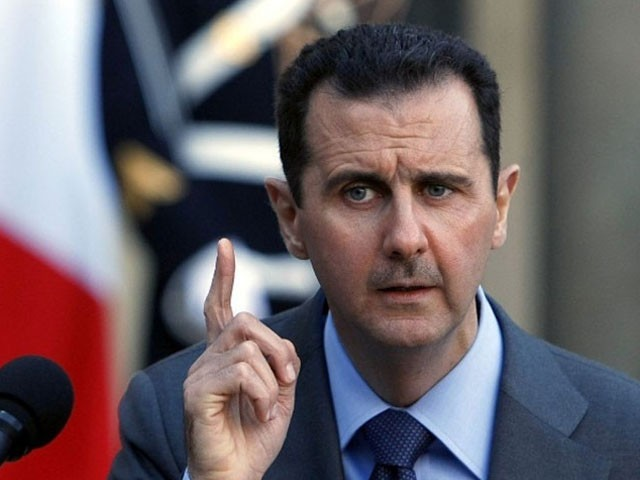 اپنے ملک کے دفاع کے لیے کسی سے اجازت نہیں لیں گے، بشار الاسد (فوٹو : فائل)