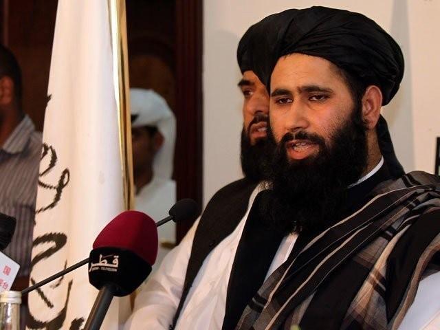 18 ماہ کے مذاکرات کے بعد امن معاہدہ ہونے جارہا ہے، ترجمان طالبان ذبیح اللہ مجاہد فوٹو: اے ایف پی