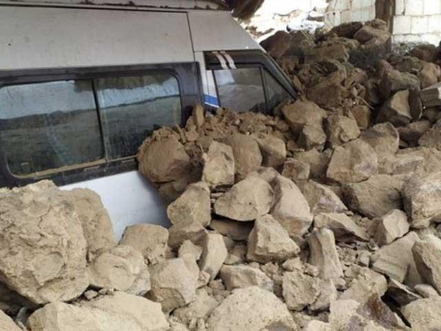 زلزلہ ترکی کی ایران کے ساتھ سرحدی علاقے میں آیا،فوٹوترک میڈیا