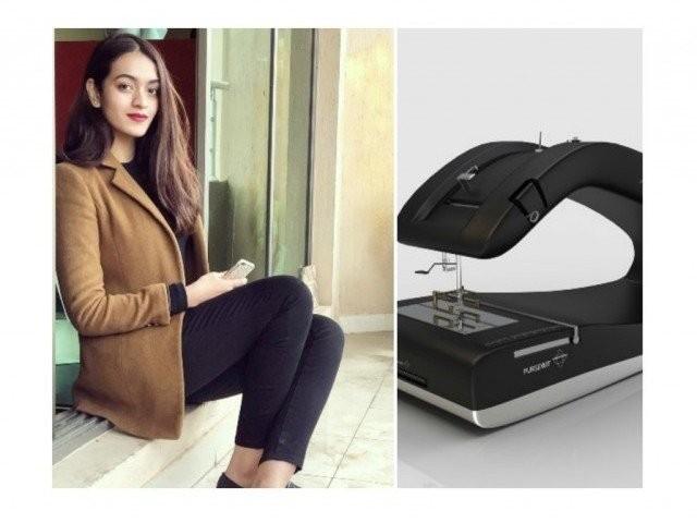 پاکستانی انڈسٹریل ڈیزائننگ کی طالبہ اقصیٰ اجمل نے بصارت کی خرابی میں مبتلا افراد کے لیے جدید سلائی مشین ڈیزائن کی