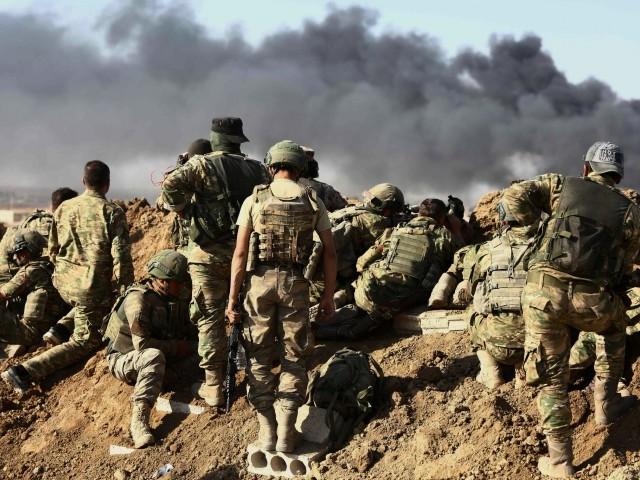 نیٹو سیکریٹری جنرل جینز اسٹولٹن برگ نے شامی حکومت اور روسی افواج کے اندھا دھند فضائی حملوں کی مذمت کی۔ فوٹو: اے ایف پی
