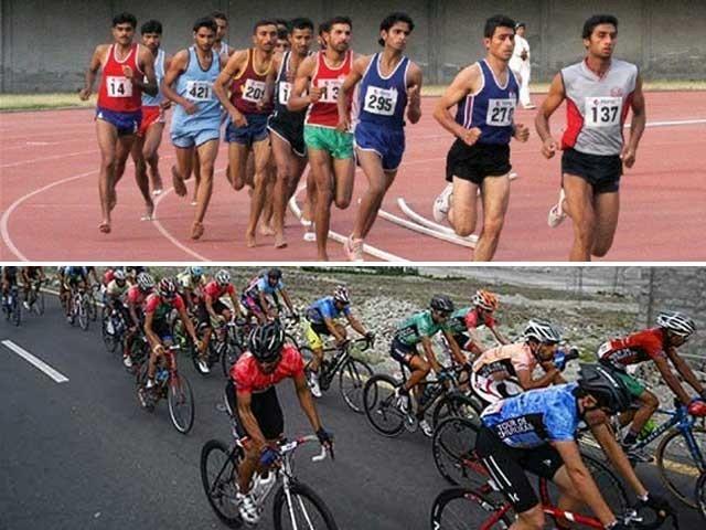 خیبرپختون خوا میں بین الاقوامی کھیلوں کے مقابلوں کے انعقاد کے لیے اقدامات اٹھائے جارہے ہیں، ڈی جی سپورٹس . فوٹو : فائل