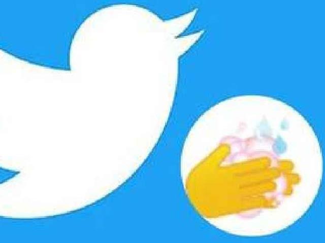 ٹویٹر نے ہاتھ دھونے کا ایموجی پیش کردیا جسے دنیا بھر میں سراہا جارہا ہے۔ فوٹو: فائل