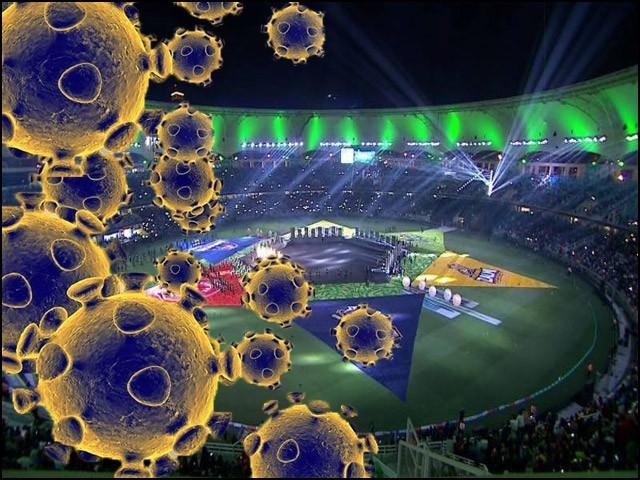کورونا وائرس کی شدت کے پیش نظر پاکستان سپر لیگ کے باقی میچز ملتوی کردیے گئے۔ (فوٹو: فائل)