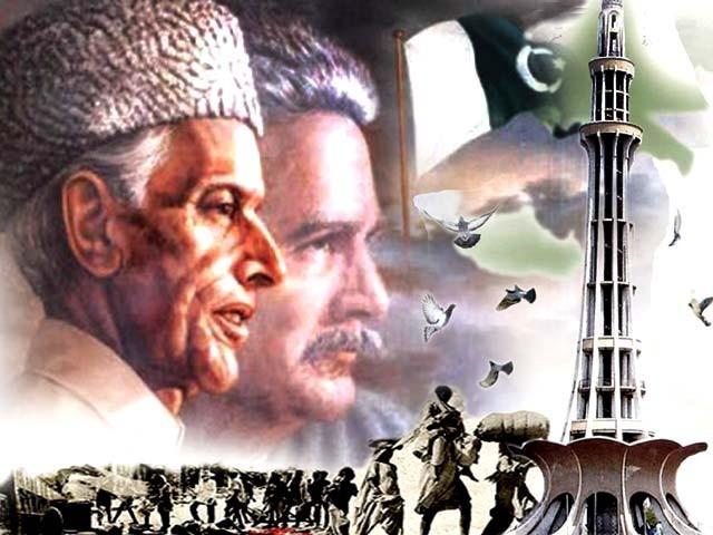 بابائے قوم کی ہدایت پر قرارداد پاکستان کی ساگرہ 23 مارچ کو منانے کا رواج شروع ہوا ۔ فوٹو: فائل