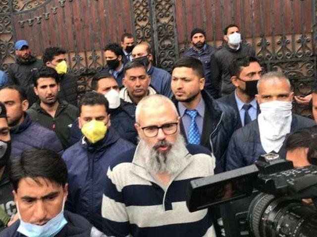 نظر بندی کے دوران عمر عبداللہ نے داڑھی رکھ لی، فوٹو : بھارتی میڈیا