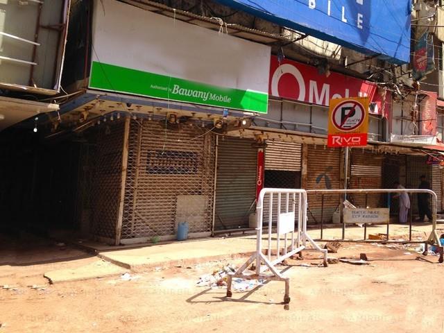 ملزمان نے مارکیٹ میں صرف بڑی دکانوں کے تالے توڑے، پولیس (فوٹو: فائل)