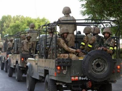 صوبائی حکومت نے وفاق سے فوج تعینات کرنے کی درخواست کی تھی۔