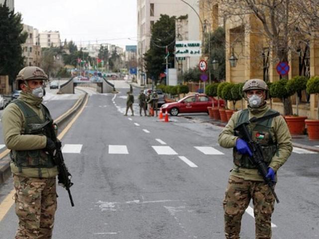 اردن میں کورونا وائرس کی وجہ سے ایک ہفتے قبل کرفیو نافذ کیا گیا ہے، فوٹو : فائل