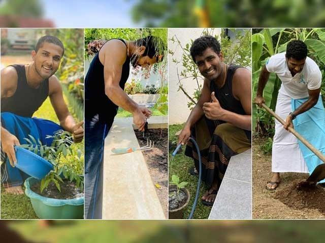 سری لنکن کھلاڑیوں کی عالمی وبا کا مقابلہ کرنے کیلیے عوام سے گھر پر رہنے کی اپیل