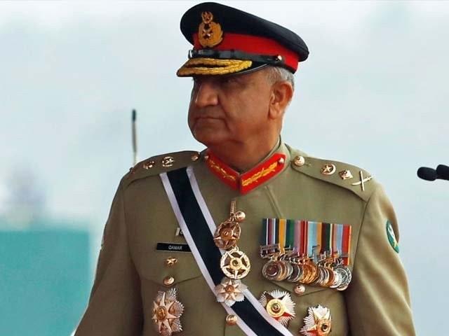 جنرل قمر جاوید باجوہ نے کور کمانڈرز کو دور دراز علاقوں تک مدد فراہم کرنے کی ہدایت بھی کی، آئی ایس پی آر۔ فوٹو، فائل