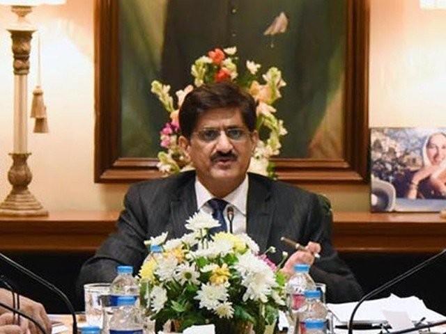 مجھے ابتدائی 7 روز والا لاک ڈاؤن چاہئے، وزیراعلیٰ مراد علی شاہکی متعلقہ اداروں کو ہدایت ۔ فوٹو : فائل