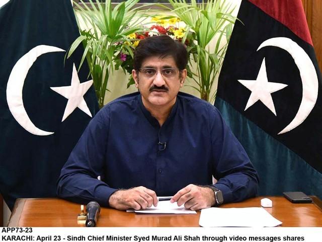 صوبے میں کورونا کے باعث انتقال کرنے کی شرح 1.73 فیصد ہے، وزیر اعلیٰ سندھ فوٹو: فائل