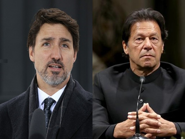 Imran Khan also expressed his condolences to his Canadian counterpart over the loss of life caused by Corona. Photos, Internet