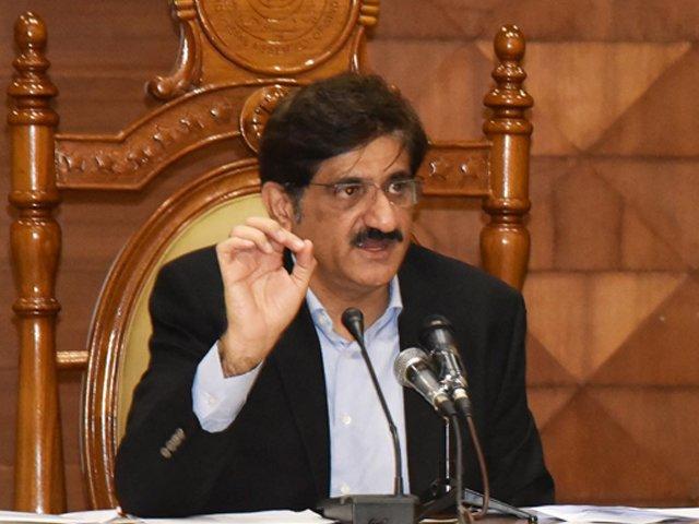 وزیراعظم کو کہا ہے کہ حقائق کو مدنظر رکھ کر فیصلہ کرنا چاہیے، مرادعلی شاہ۔ فوٹو : فائل