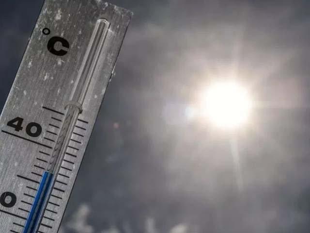 سمندری ہواؤں کی بندش اور درجہ حرارت 40سے 42 ڈگری تک پہنچے کا امکان ہے، محکمہ موسمیات۔ فوٹو، فائل