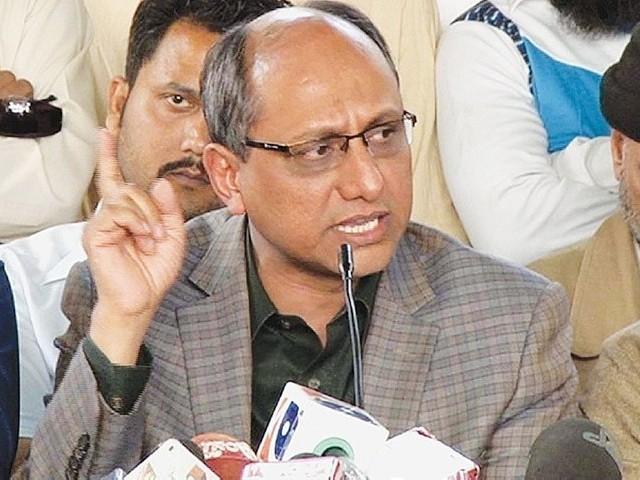 سندھ حکومت سپریم کورٹ کے حکم  پر عمل کی پابند ہے، سعید غنی (فوٹو : فائل)