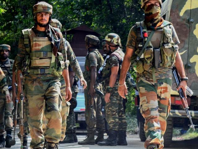 مطابق قابض بھارتی فوج نے تاحال علاقے کا محاصرہ کر رکھاہے. فوٹو، فائل