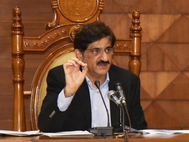 وزیراعظم عمران خان عید سادگی سے منانے کا قومی اعلان کریں، مراد علی شاہ فوٹو، فائل