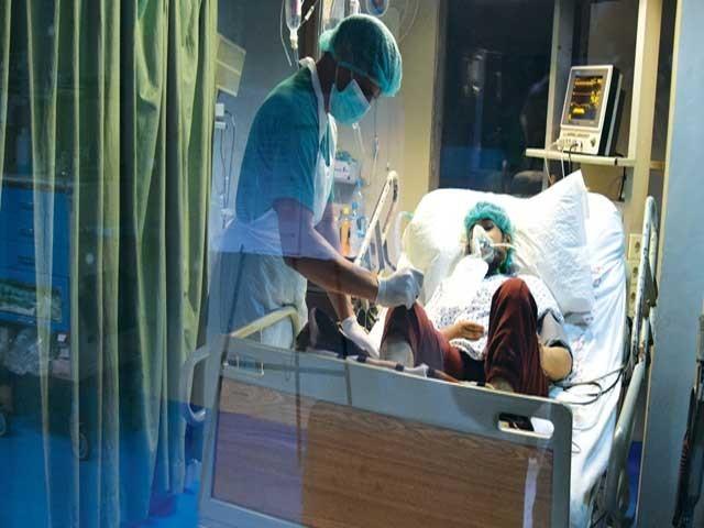 نیپا اسپتال میں وبائی امراض کی تشخیص کے لیے لیبارٹری تعمیر کی جائے گی . فوٹو : فائل