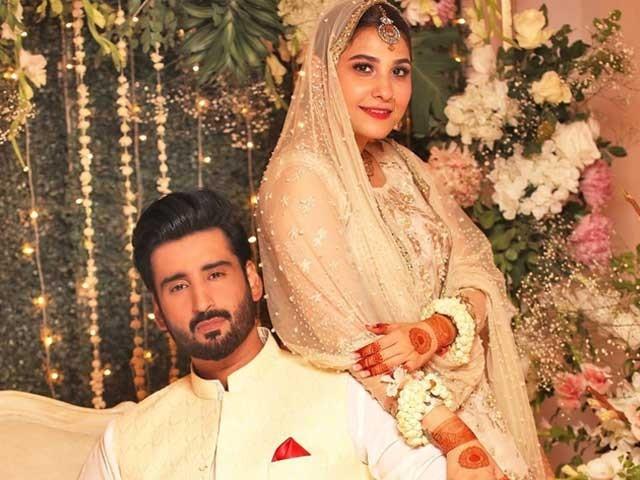 دونوں نے رشتہ ازدواج میں منسلک ہونے کی خبر آج اپنے اپنے سوشل میڈیا اکاؤنٹ پر شیئر کی ، فوٹوسوشل میڈیا