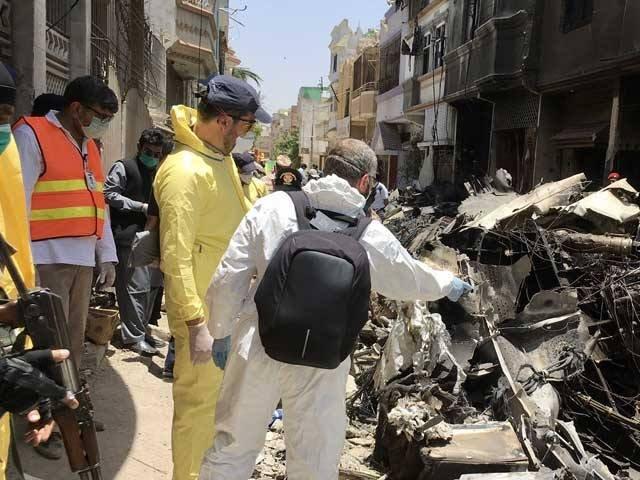 طیارہ حادثے کی تحقیقات پیشہ ورانہ انداز میں ہورہی ہیں، فرانسیسی ماہرین