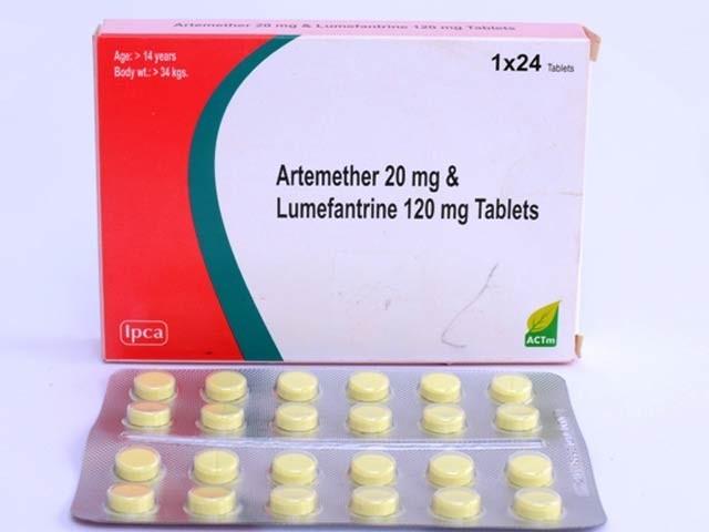 لیومیفینٹرائن ملیریا کے خلاف ایک مؤثر دوا ہے جو شاید دماغی سرطانی رسولی کو بھی تباہ کرسکتی ہے۔ فوٹو: فائل