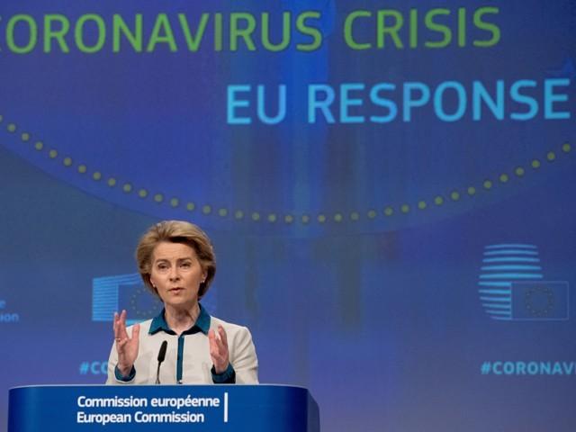 یہ تجویز گزشتہ روز یورپی یونین کے ایگزیکٹیو کمیشن کی سربراہ ارسلا وان ڈر لین نے پیش کی۔ (فوٹو: یورپین یونین)