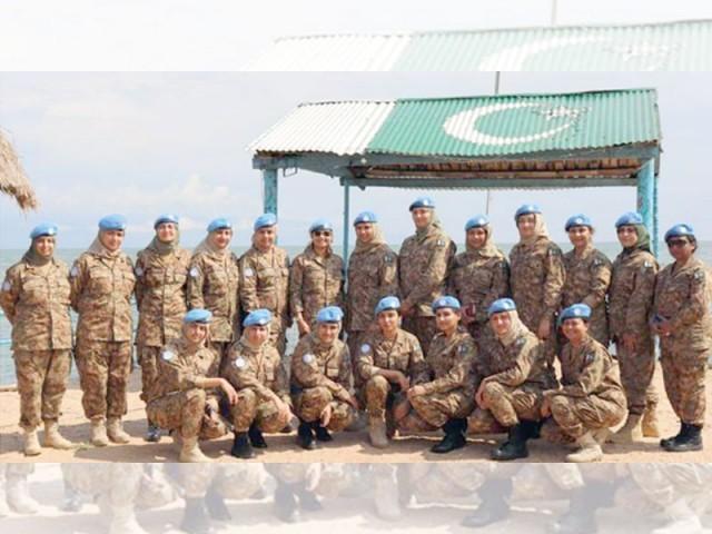 28ممالک میں46امن مشنز میں حصہ لیا، پاک فوج کی کارکردگی عالمی سطح پر تسلیم۔ فوٹو: فائل