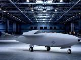 خودکار، خودمختار اور آواز سے تیز رفتار 'اسکائی بورگ' جیٹ طیارے کا تصوراتی خاکہ۔ (فوٹو: امریکی فضائیہ)