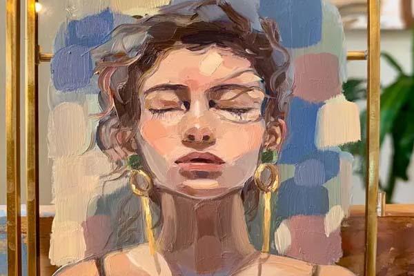 Saudia female artist 9