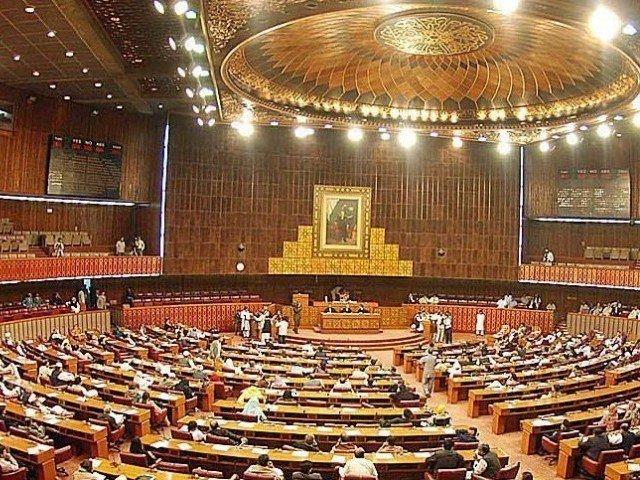 تمام پارلیمانی جماعتوں  نے قرارداد کی حمایت کی۔ فوٹو، فائل