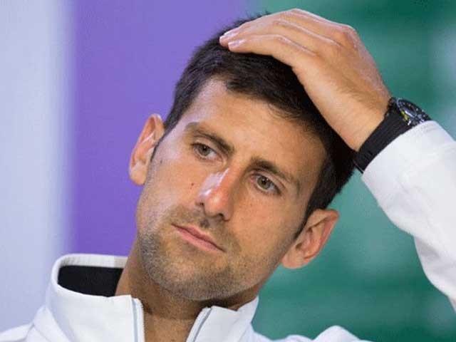 ٹینس اسٹار کی اہلیہ کا ٹیسٹ بھی مثبت آیا ہے