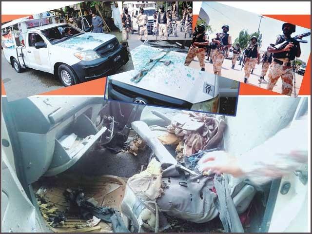 رواں ماہ رینجرز پر دستی بمبوں کے ذریعے 5 حملے کئے گئے، پولیس حکام خاموش