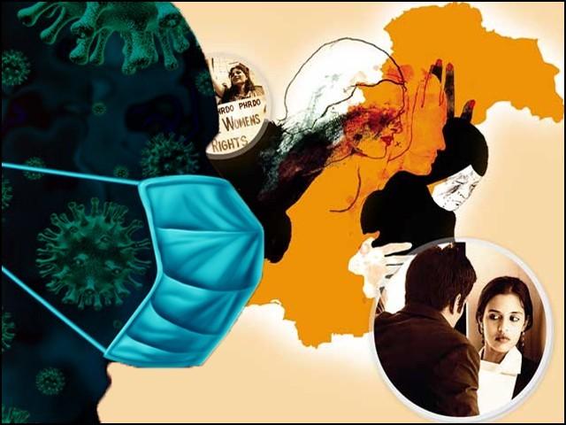 کووڈ۔19 کے بعد پاکستان سمیت دنیا بھر میں خواتین پر گھریلو تشدد  میں اضافہ ہوا ہے۔ (فوٹو: فائل)
