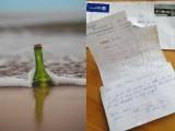 بوتل میں موجود پیغام دو ہفتے میں فلوریڈا سے بہتے ہوئے کیرولینا پہنچا، فوٹو : ٹویٹر