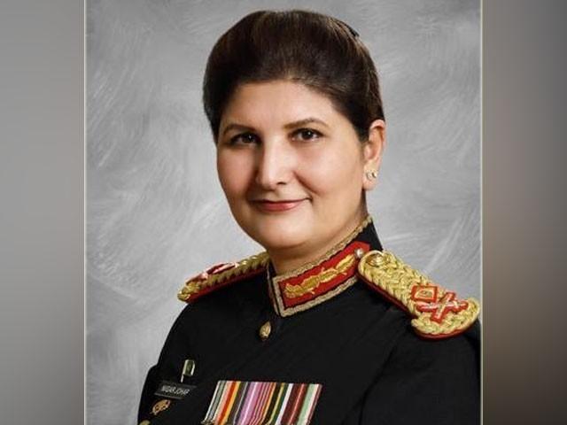 لیفٹیننٹ جنرل نگار جوہر کو سرجن جنرل آف پاکستان آرمی تعینات کردیا گیا ہے، آئی ایس پی آر۔ فوٹو : آئی ایس پی آر
