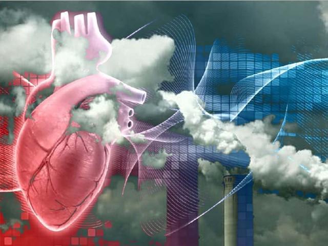 ایک لاکھ 57 ہزار شرکا پر ہونے والی تحقیق میں آلودگی اور امراض قلب کے مابین تعلق سامنے آیا۔ فوٹو، انٹرنیٹ