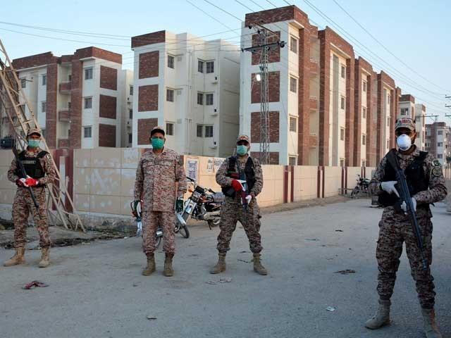 محکمہ داخلہ سندھ نے لاک ڈاؤن میں توسیع کا نوٹیفکیشن جاری کردیا۔ (فوٹو، فائل)